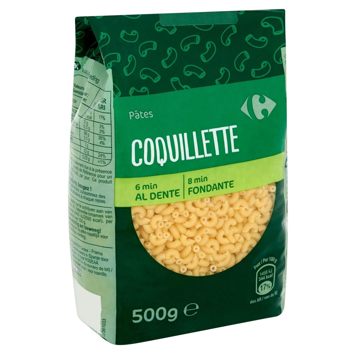 Coquillette Carrefour 500g