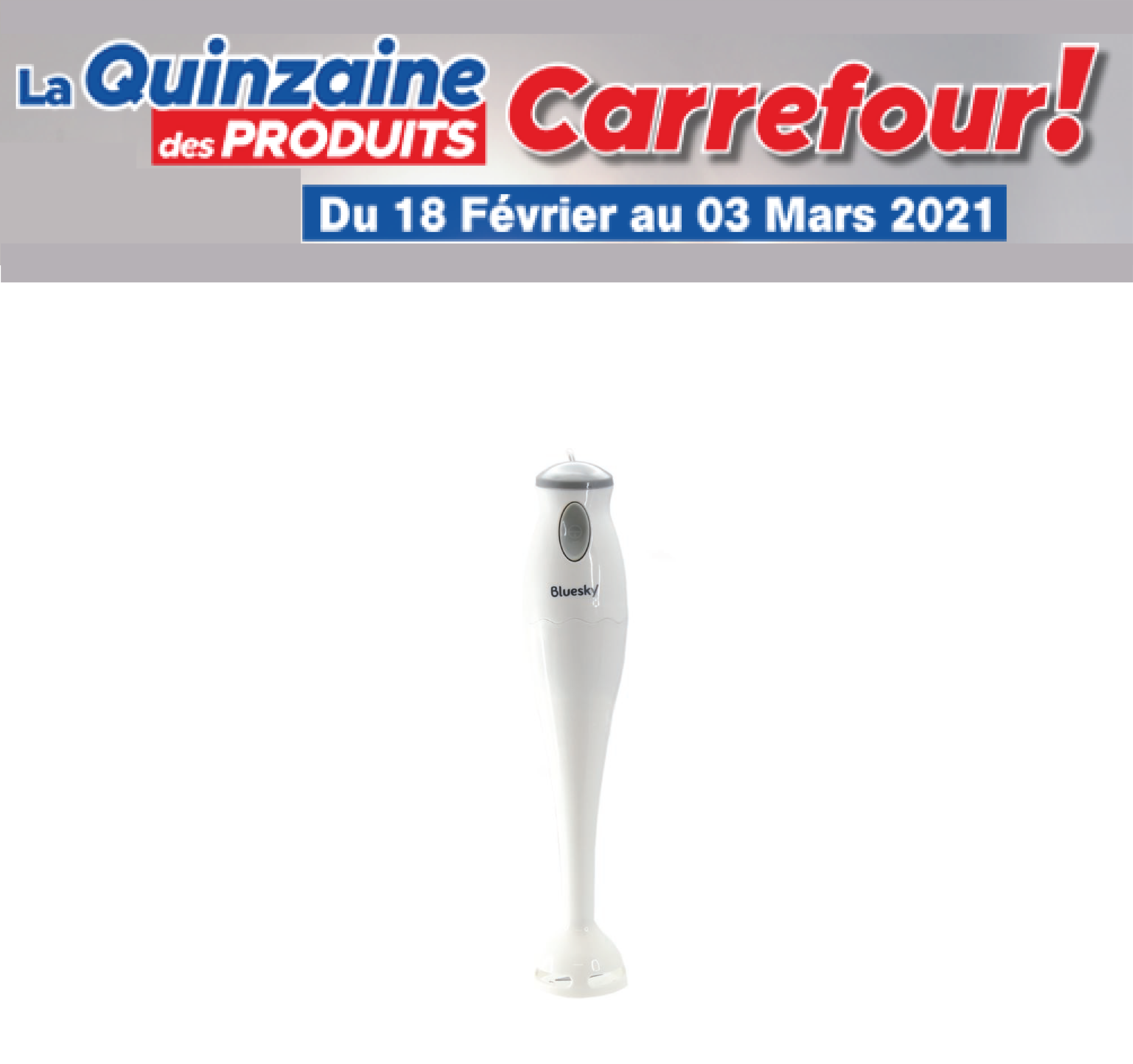 Mixeur Carrefour
