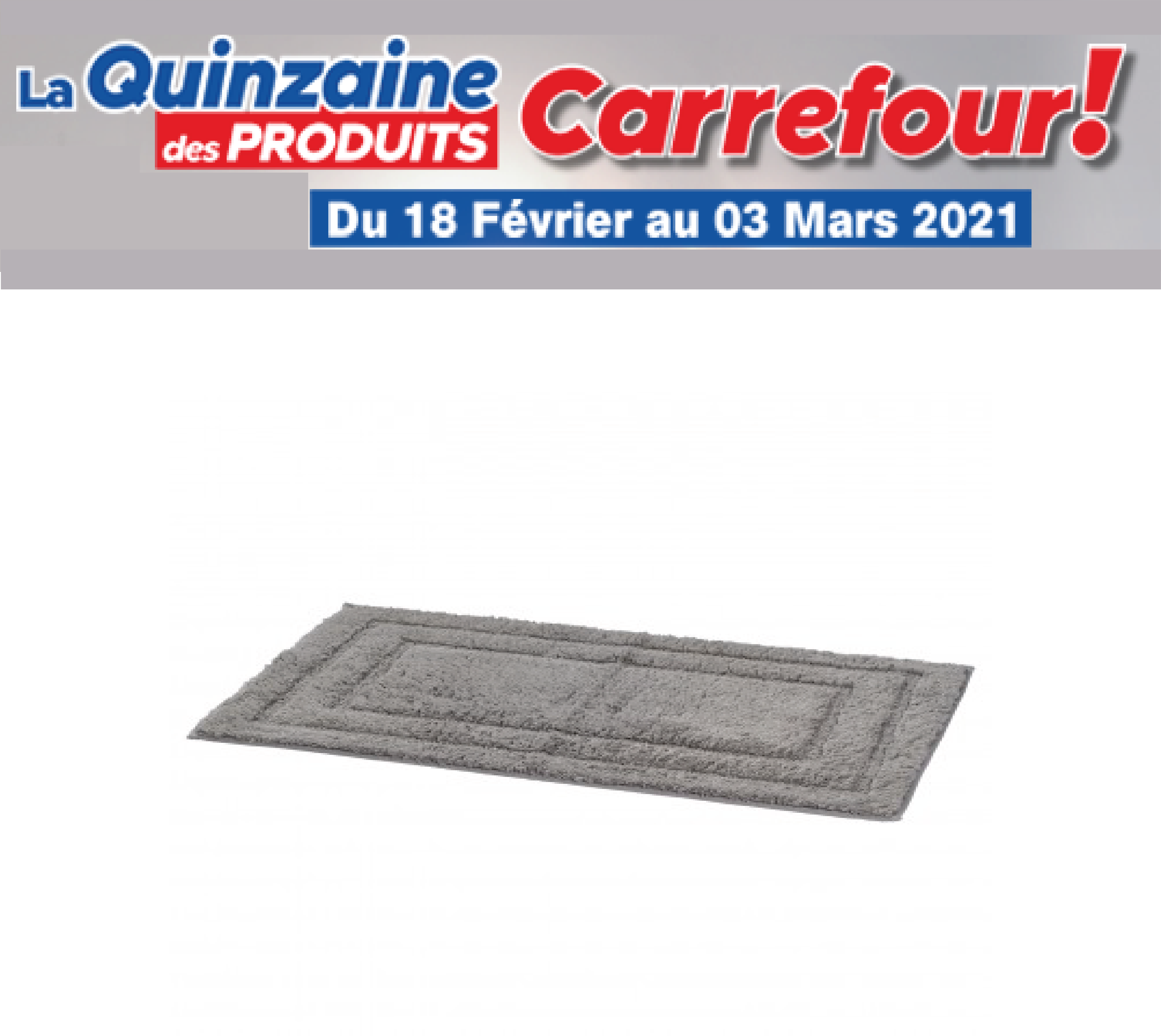 Paillasson Carrefour Home Tex